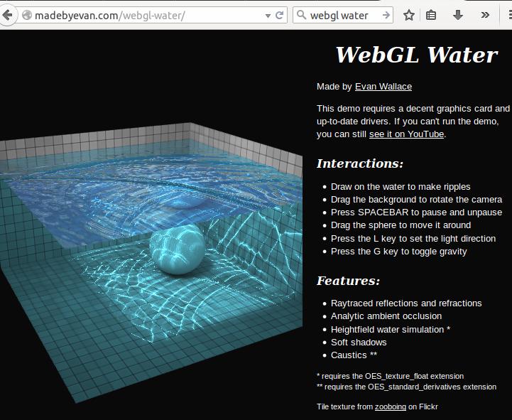 webglwater